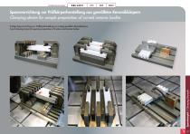 Special Solutions for Cutting – clamping tools and additional features for Brillant - 27