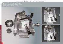 Special Solutions for Cutting – clamping tools and additional features for Brillant - 32