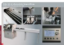 Special Solutions for Cutting – clamping tools and additional features for Brillant - 36