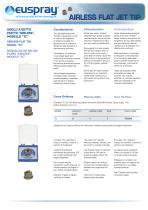 AIRLESS FLAT JET TIP - 2