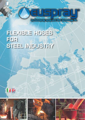 FLEXIBLE HOSES FOR STEEL INDUSTRY