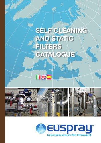 SELF CLEANING AND STATIC FILTERS