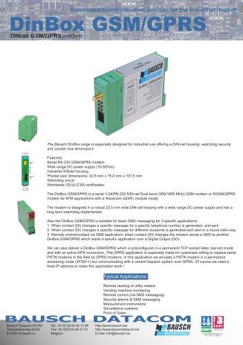 DinBox GSM/GPRS (DB GSMGPRS)