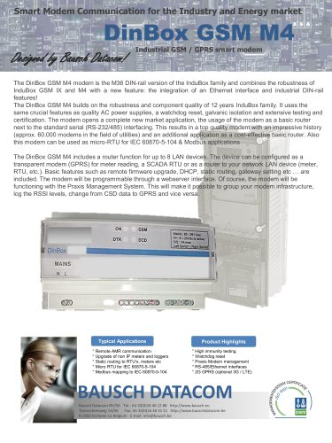 DinBox GSM M4