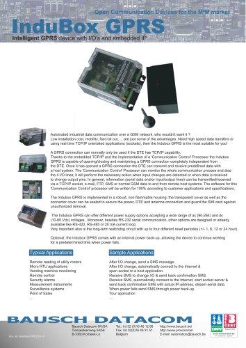 InduBox GPRS (IB GPRS)