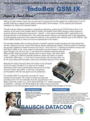 InduBox GSM/GPRS IX (IB GSM/GPRS IX)