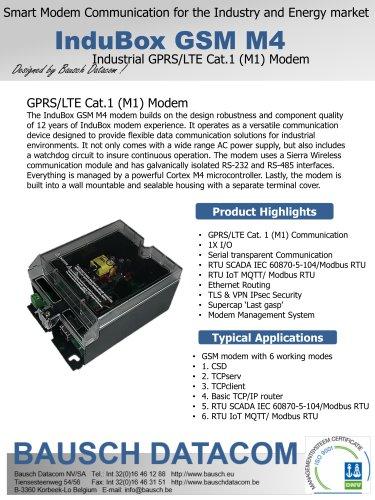 InduBox GSM M4