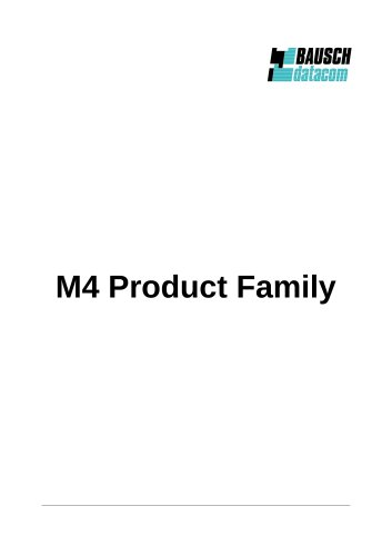 M4 Product Family