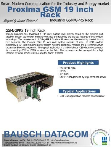 Proxima GSM 19  inch rack