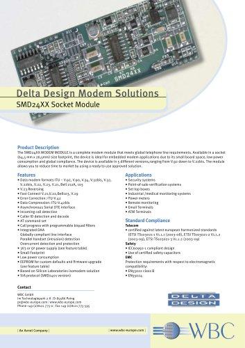 SMD24XX Socket Module