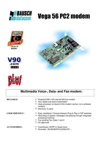 Vega 56 PC2 modem