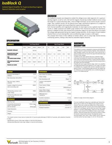 IsoBlock Q Isolation Amplifier