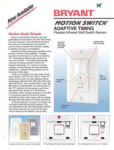 Bryant Motion Switch