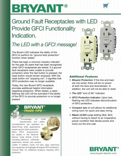 Ground Fault Receptacles