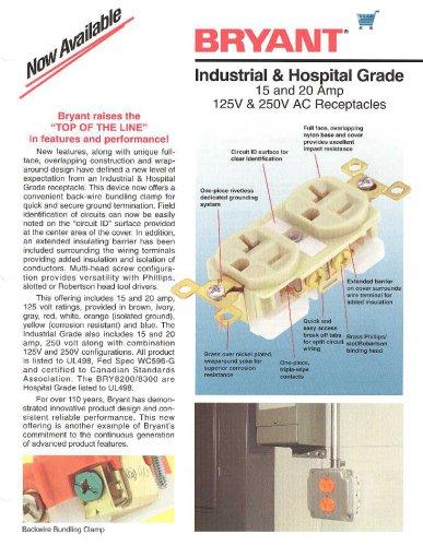 Industrial / Hospital Grade Receptacles