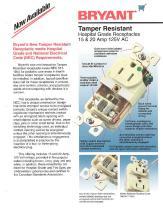 Tamper Resitant Hospital Grade Receptacles