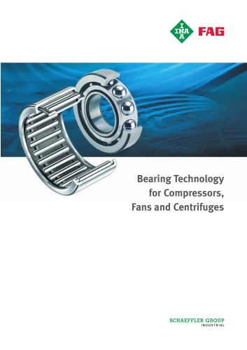 Bearing Technology for Compressors, Fans and Centrifuges