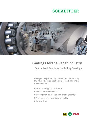 Coatings for the Paper Industry