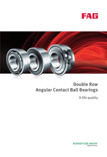 Double Row Angular Contact Ball Bearings X-life quality