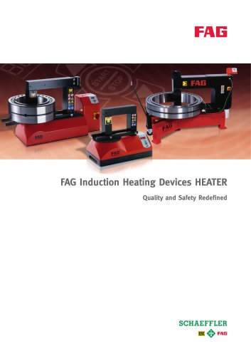FAG Induction Heating Devices HEATER Quality and Safety Redefined