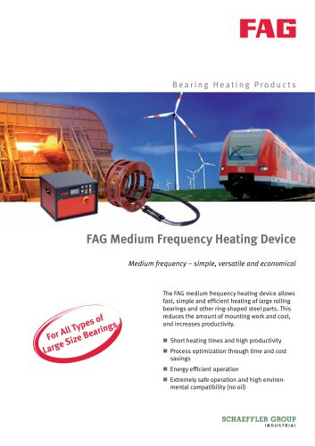 FAG Medium Frequency Heating Device