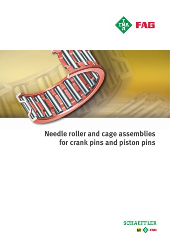 Needle roller and cage assemblies for crank pins and piston pins (TPI 94)