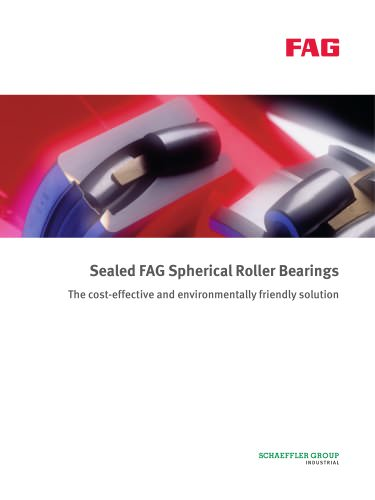 Seald FAG Spherical Roller Bearings