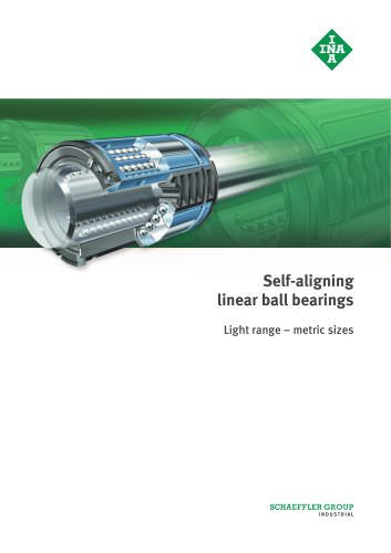 Self-aligning linear ball bearings (MAI 71)