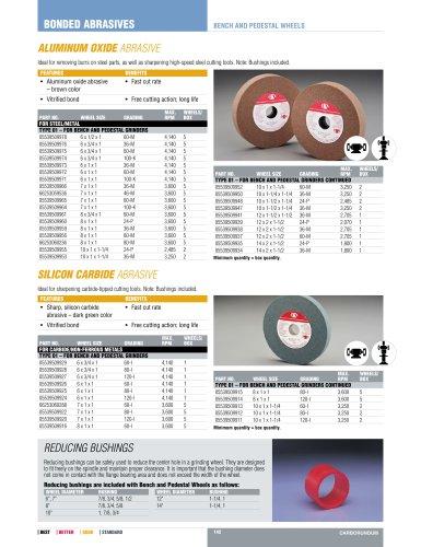 Catalog - Bench and Pedestal Wheels