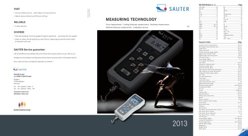 Measuring Technology