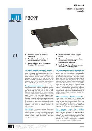 MTL F809 Power Supply