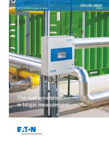 MTL GIR6000 biogas analyser