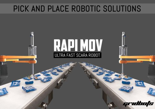 RAPID MOV - Ultra Fast SCARA Robot