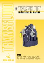 KPTO DRAIN-TYPE FLUID COUPLING for internal combustion engines