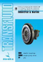 RBD elastic couplings / SRBD single pump drive / PF pto