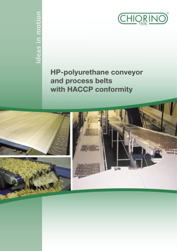 Food - HACCP Conveyor and Process belts HP Series