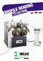 Profile bending machine PIR PIR/3 CPH series