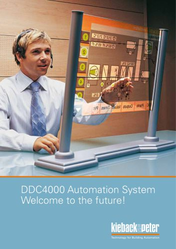 Brochure DDC4000 Automation System