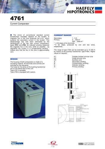 4761 Standard Current Transformer 1000A