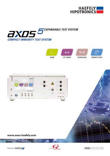 AXOS5 Compact Immunity Test System