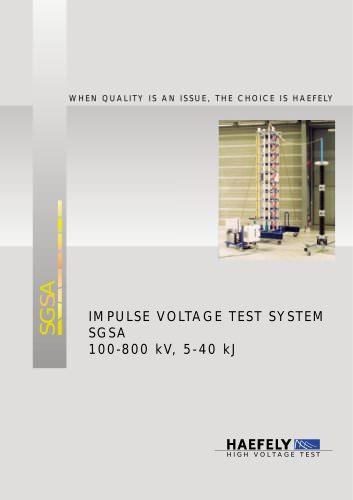 "Light Impulse Voltage Generator ""S type"""