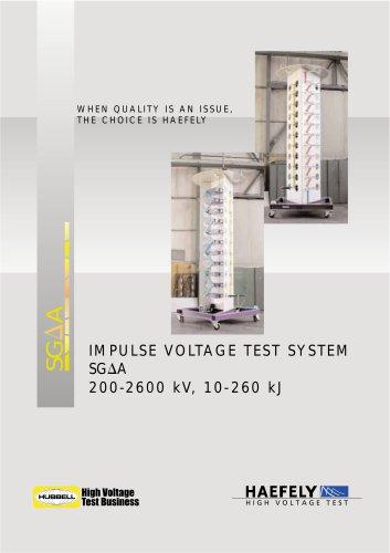 """Medium Impulse Voltage Generator """"? type"""""""