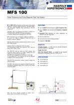 MFS 100 - Power Frequency Test System