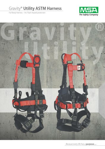 Gravity® Utility ASTM Harness
