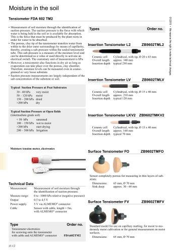 13.12 Tensiometer FDA 602 TM2