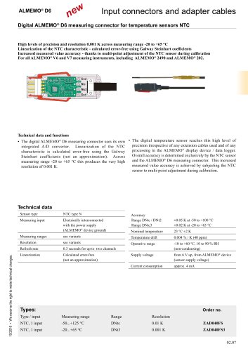 D6 connectors