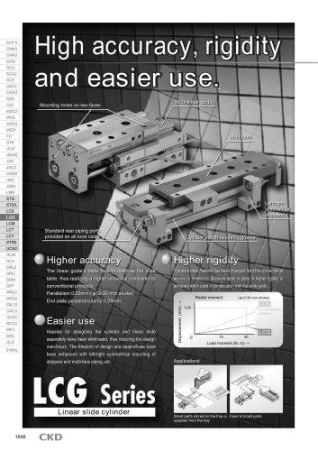Linear slide cylinder LCG