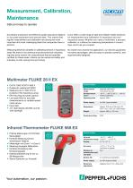 Measuring and Calibration Line Card 2020