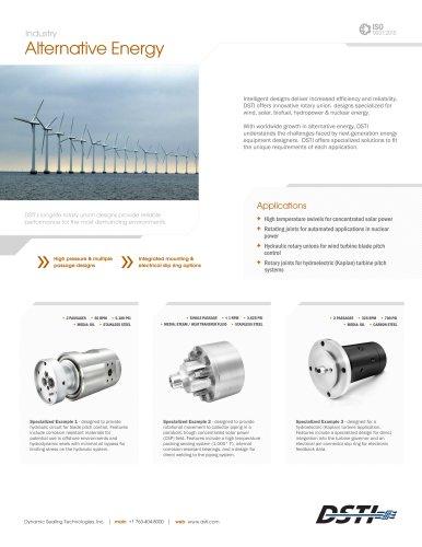 DSTI Sell Sheet - Alternative Energy