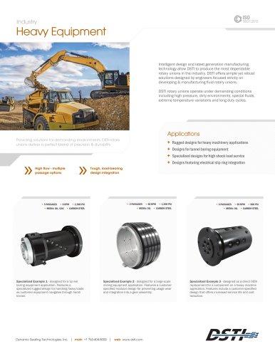 DSTI Sell Sheet - Heavy Equipment